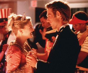 never been kissed, drew barrymore, and movie image