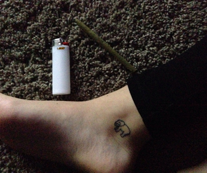 ankle, skin, and love image