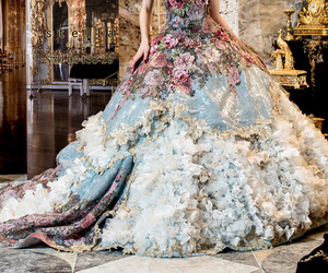 ball gowns, dress, and beautiful image