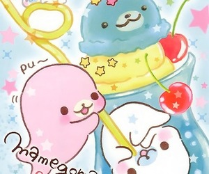 kawaii, mamegoma, and cute image