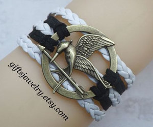 bracelet, leather jewelry, and ancient silver jewelry image