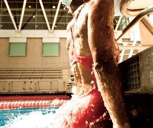 inspo, pool, and training image