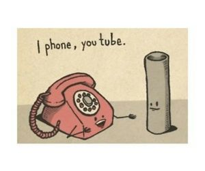youtube, iphone, and cute image