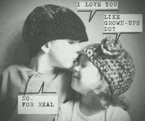 love, kids, and real image