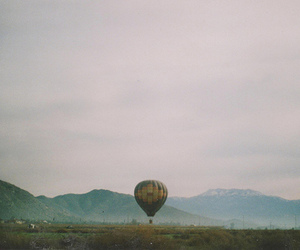 balloon, landscape, and photography image