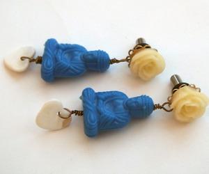 blue, Buddha, and zen image