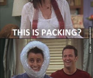 funny, friends, and chandler image