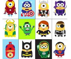 minions, batman, and hero image