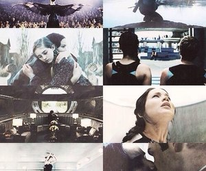 catching fire, the hunger games, and Jennifer Lawrence image