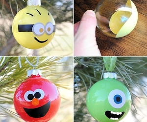 baubles, christmas, and crafts image