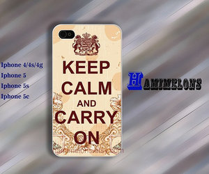 keep calm and iphone case image