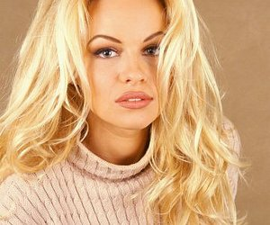 blonde and Pamela Anderson image