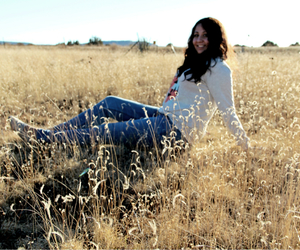 curls, field, and photography image