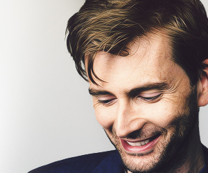 david tennant and smile image