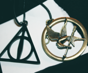 harry potter, illuminati, and the hunger games image
