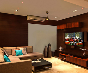 design, living room, and table image
