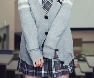 uniform, school, and kawaii image