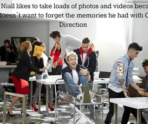 niall horan, one direction, and memories image