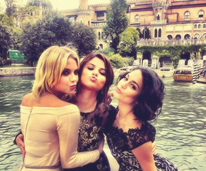 selena gomez, vanessa hudgens, and ashley benson image