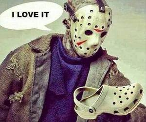 funny, lol, and crocs image