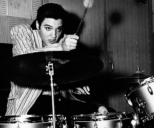 1950s, actor, and drums image