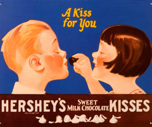 kiss, hershey's, and chocolate image