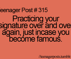 teenager post, famous, and funny image