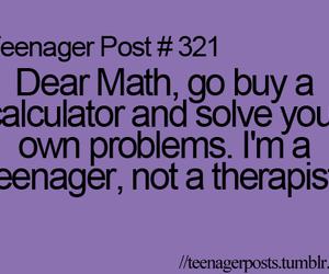 math, teenager post, and teenager image