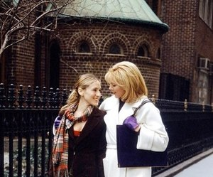 sex and the city, Carrie Bradshaw, and samantha jones image