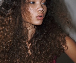model, ashley moore, and curly image