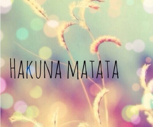 fashion, hakuna matata, and love image