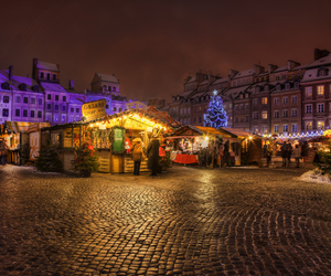 christmas, evening, and city image
