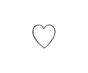 heart, love, and black and white image