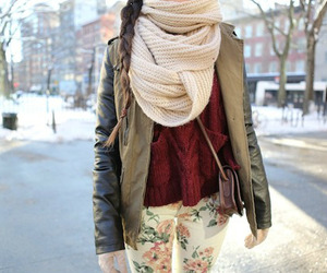 girl, winter, and clothes image
