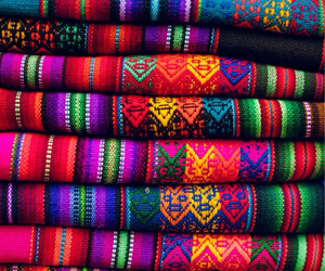 colorful, peru, and travel image
