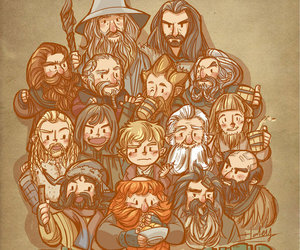 hobbit, the hobbit, and thorin image