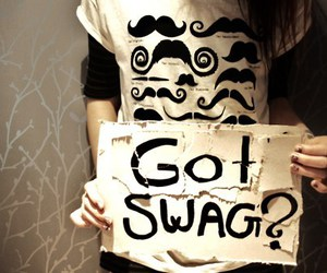 fashion, swag, and moustache image