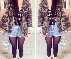 fashion, shorts, and cute image