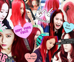 pretty, f(x), and krystal image
