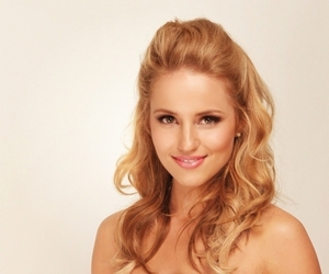 glee, dianna agron, and blonde image