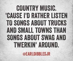 country, music, and trucks image