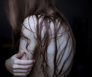 hair, pale, and skin image