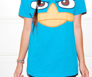 perry, blue, and shirt image