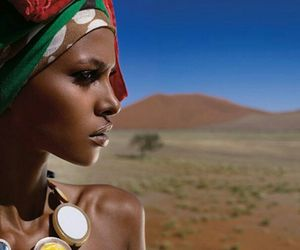 africa, head wrap, and beautiful image
