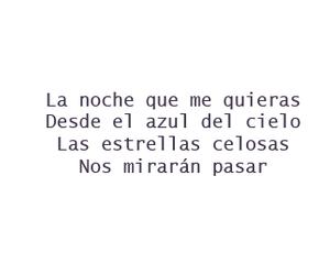 espanol, letra, and Lyrics image