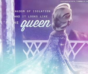 frozen, disney, and Queen image