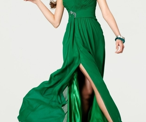 evening formal prom dress image