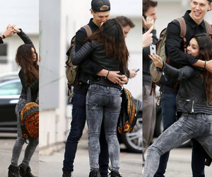 couple, vanessa hudgens, and cute couple image