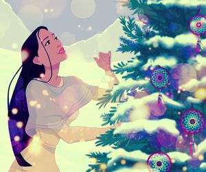 disney, pocahontas, and christmas image