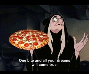 pizza, disney, and food image